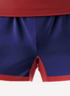 Pantalón oficial de juego sublimado color azul